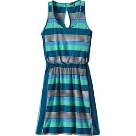 Patagonia W's West Ashley Dress Fitz Stripe Micro: Navy Blue